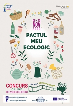 "Concurs Europe Goes Green ""Pactul meu ecologic"" 2020 1"