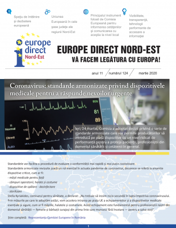 Newsletter Europe Direct - Martie 2020