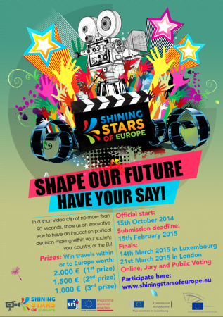 "Concurs de videoclipuri ""Shining Stars of Europe"""